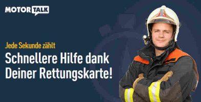 Rettungskarte für Dein Auto