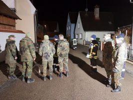 Reservisten Nachtorientierungsmarsch in Megesheim