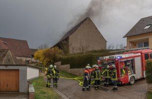 Brand in Unterappenberg